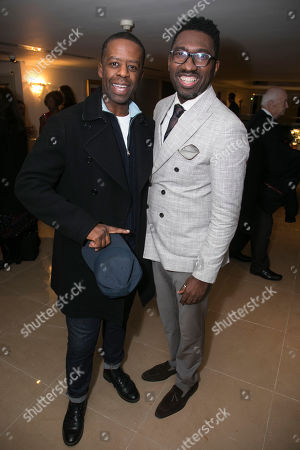 Adrian Lester and Kwame Kwei-Armah (Poducer)