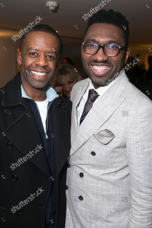 Stock Photo of Adrian Lester and Kwame Kwei-Armah (Poducer)