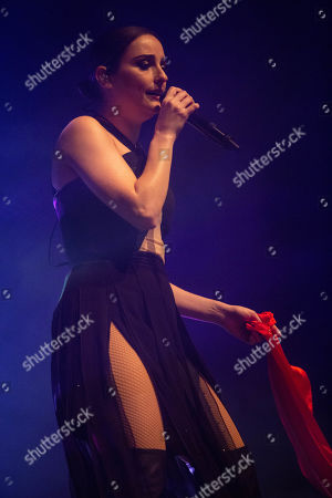 Editorial picture of Banks in concert at the Roundhouse, London, UK - 04 Nov 2019