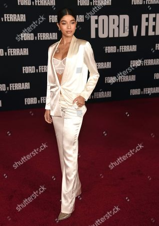 """Yovanna Ventura arrives at a special screening of """"Ford v Ferrari"""", at the TCL Chinese Theatre in Los Angeles"""