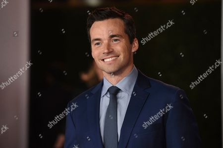 """Ian Harding arrives at a special screening of """"Ford v Ferrari"""", at the TCL Chinese Theatre in Los Angeles"""