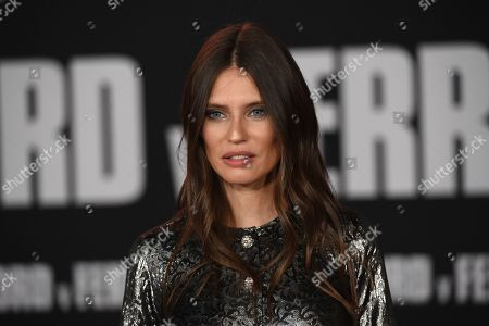 """Bianca Balti arrives at a special screening of """"Ford v Ferrari"""", at the TCL Chinese Theatre in Los Angeles"""