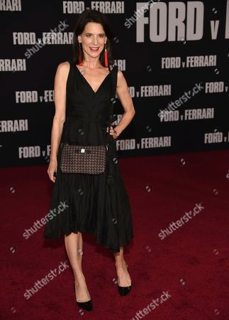 """Perrey Reeves arrives at a special screening of """"Ford v Ferrari"""", at the TCL Chinese Theatre in Los Angeles"""