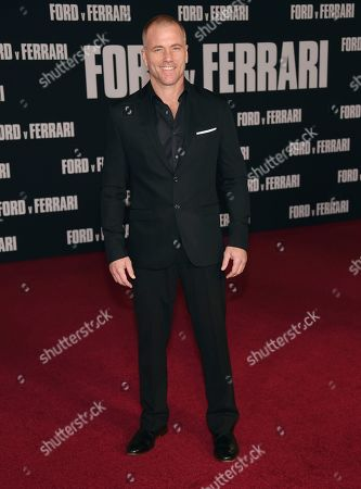 "Editorial photo of LA Premiere of ""Ford v Ferrari"", Los Angeles, USA - 04 Nov 2019"