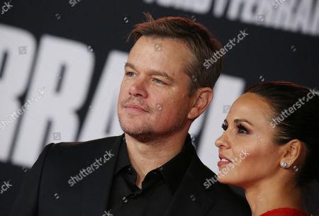 Matt Damon, Luciana Damon