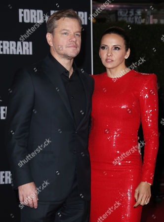 Matt Damon and wife Luciana Damon