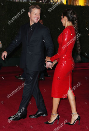 Matt Damon and wife Luciana Damon