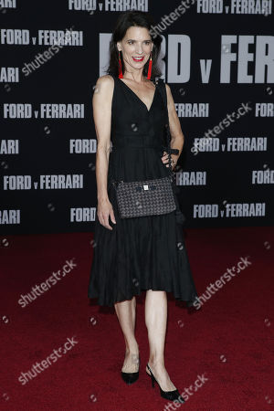 Perrey Reeves poses on the red carpet prior to the premiere of the Ford v Ferrari movie at TLC Chinese Theater in Hollywood, California, USA, 04 November 2019. The movie is to be released in US theaters on 15 November 2019.