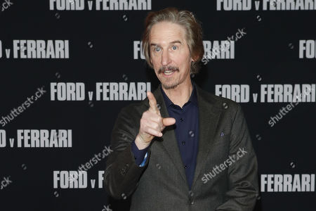 Ray McKinnon poses on the red carpet prior to the premiere of the Ford v Ferrari movie at TLC Chinese Theater in Hollywood, California, USA, 04 November 2019. The movie is to be released in US theaters on 15 November 2019.