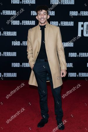 Khleo Thomas poses on the red carpet prior to the premiere of the Ford v Ferrari movie at TLC Chinese Theater in Hollywood, California, USA, 04 November 2019. The movie is to be released in US theaters on 15 November 2019.