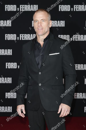 Sean Carrigan poses on the red carpet prior to the premiere of the Ford v Ferrari movie at TLC Chinese Theater in Hollywood, California, USA, 04 November 2019. The movie is to be released in US theaters on 15 November 2019.