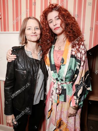 Jodie Foster and Alma Har'el