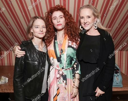 Jodie Foster, Alma Har'el and Jennifer Salke