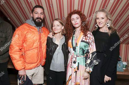 Shia LaBeouf, Jodie Foster, Alma Har'el and Jennifer Salke