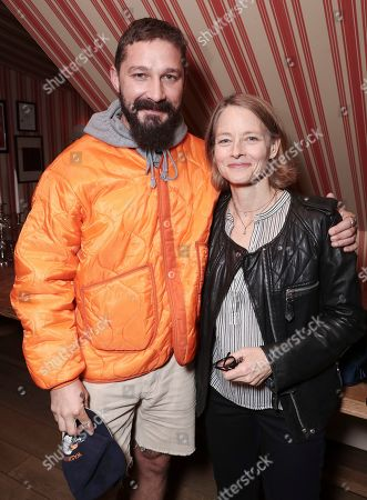 Stock Picture of Shia LaBeouf and Jodie Foster