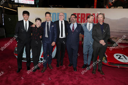 Francesco Bauco, Noah Jupe, Jon Bernthal, Tracy Letts, James Mangold, Director/Producer, Josh Lucas, Ray McKinnon