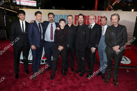 Francesco Bauco, Jon Bernthal, James Mangold, Director/Producer, Noah Jupe, Matt Damon, Christian Bale, Tracy Letts, Josh Lucas, Ray McKinnon