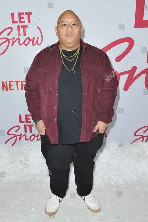 """Jacob Batalon attends the LA premiere of """"Let it Snow"""" at The Grove, in Los Angeles"""