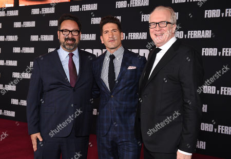 James Mangold, Jon Bernthal and Tracy Letts