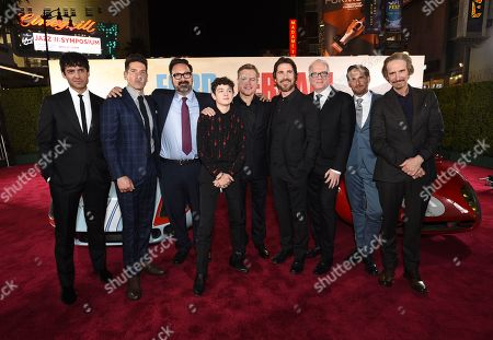 Francesco Bauco, Jon Bernthal, James Mangold, Noah Jupe, Matt Damon, Christian Bale, Tracy Letts, Josh Lucas and Ray McKinnon