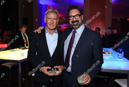 Harrison Ford, James Mangold, Director/Producer at the after party