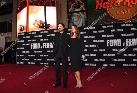 Christian Bale and Sibi Blazic