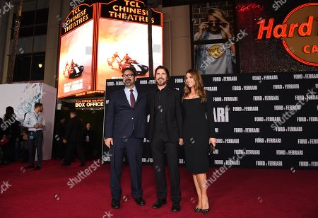 James Mangold, Christian Bale and Sibi Blazic