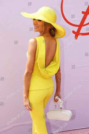Stock Picture of Nadia Fairfax (Bartel) on Lexus Melbourne Cup Day