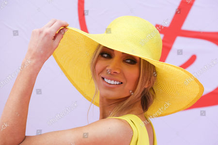 Nadia Fairfax (Bartel) on Lexus Melbourne Cup Day
