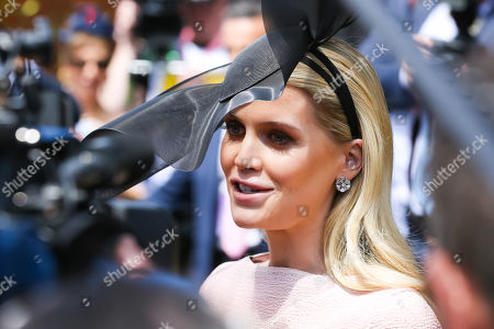 Lady Kitty Spencer arrives on Lexus Melbourne Cup Day