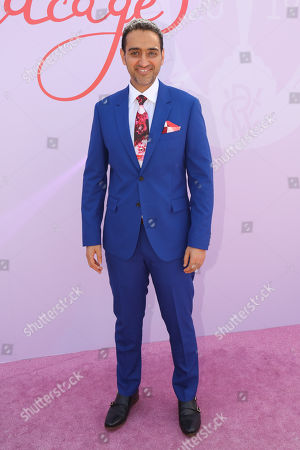 Stock Picture of Waleed Aly on Lexus Melbourne Cup Day