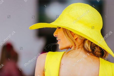 Nadia Bartel on Lexus Melbourne Cup Day