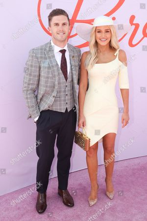 Jessica and Marc Murphy on Lexus Melbourne Cup Day