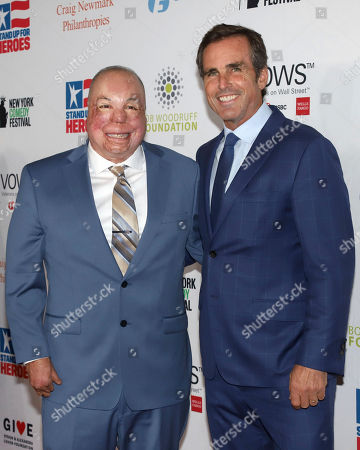 Israel Del Toro, Bob Woodruff. Senior Master Sgt. Israel Del Toro, left, and Bob Woodruff attend the 13th annual Stand Up For Heroes benefit concert in support of the Bob Woodruff Foundation at the Hulu Theater at Madison Square Garden, in New York