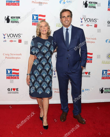 Lee Woodruff, Bob Woodruff. Lee Woodruff, left, and Bob Woodruff attend the 13th annual Stand Up For Heroes benefit concert in support of the Bob Woodruff Foundation at the Hulu Theater at Madison Square Garden, in New York