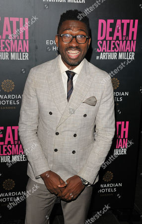 "Editorial image of 'Death Of A Salesman"" play press night, Arrivals, Piccadilly Theatre, London, UK - 04 Nov 2019"