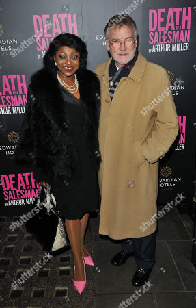Patti Boulaye and Stephen Anton Komlosy