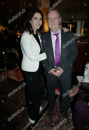 Nigella Lawson and Ian Hislop