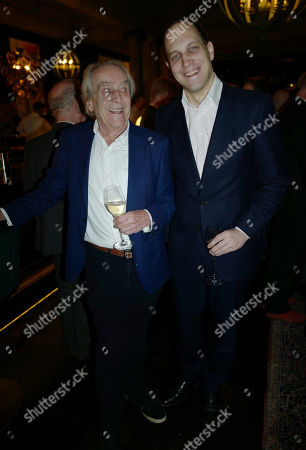 Editorial picture of Gerald Scarfe book party at the Rosewood Hotel, London, UK - 04 Nov 2019