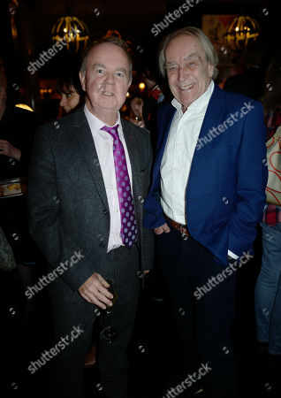 Stock Photo of Ian Hislop and Gerald Scarfe