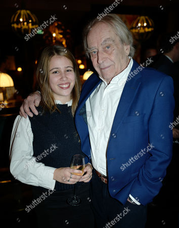 Gerald Scarfe and Granddaughter