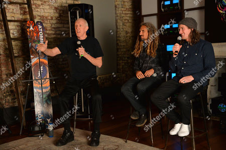 Bill Walton, Rob Machado, Chris Benchetler