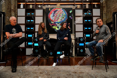 Bill Walton, Rob Machado, Chris Benchetler, Mickey Hart