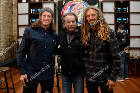 Chris Benchetler, Mickey Hart, Rob Machado