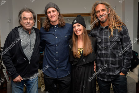 Stock Image of Mickey Hart, Chris Benchetler, Kimmy Fasani, Rob Machado