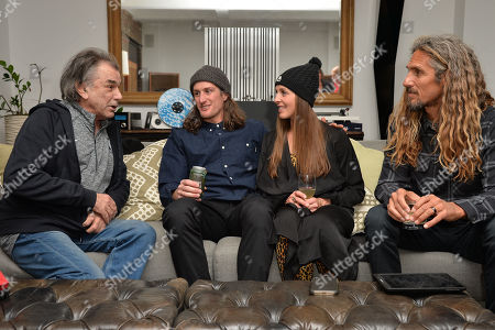 Stock Photo of Mickey Hart, Chris Benchetler, Kimmy Fasani, Rob Machado
