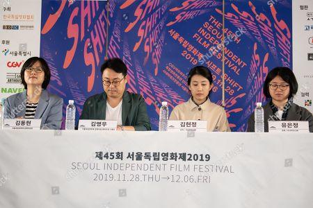 Kim Dong-hyun, Kim Young-woo, Kim Hyun-jung, Yoo Eun-jung