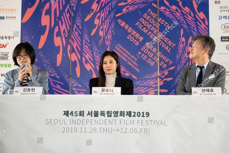 Kim Dong-hyun, So-ri Moon, Kwon Hae-Hyo