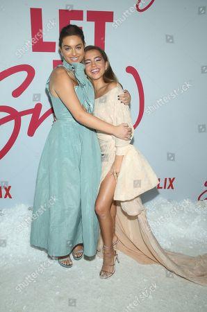 Editorial image of 'Let it Snow' film premiere, Los Angeles, USA - 04 Nov 2019