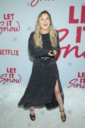 Editorial photo of 'Let it Snow' film premiere, Los Angeles, USA - 04 Nov 2019
